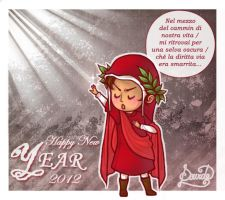 Happy New Year with Dante by DaviEuphile