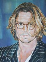 Johnny Depp by andylloyd