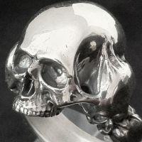 Skull ring by ColdHandLuke