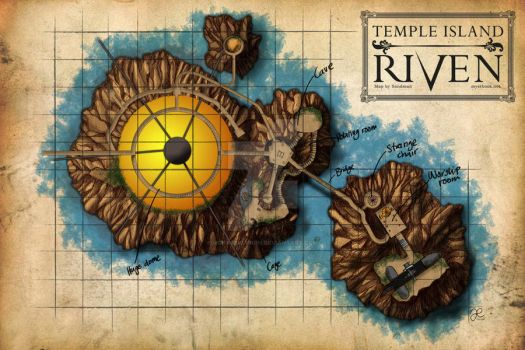 Temple Island Map
