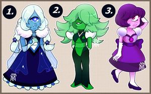 ~SU: Sapphire Adoptables~ [0/3 CLOSED] by The-Star-Hunter