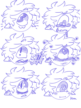 The many faces of Ozzie by GalaxyMuffin16