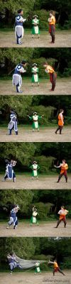'Friendly Sparring Match' by DangerSocksTheater
