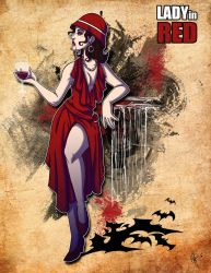 Lady In Red by jeftoon01