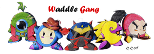 Waddle gang by Rhay-Robotnik