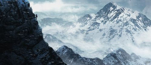 Rise of the Tomb Raider Digital Painting by ElyGraphic