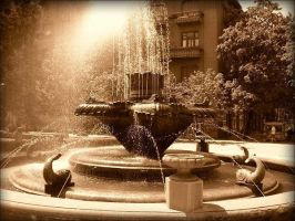 miraculous fountain by csaby1 by Timisoara