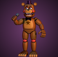 Rockstar Freddy / Lefty V2 by yoshipower879
