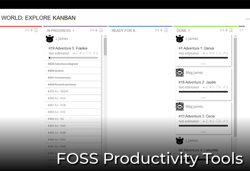 [Resource] FOSS productivity tools by L-James