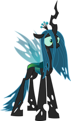 S08 E22: What Lies Beneath - Ocellus as Chrysalis by TheArtsyEmporium