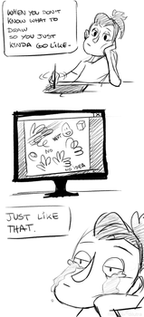 comic -  no ideas to draw by Dilutra