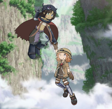 Made in abyss fanart crossover by nuria-dosrios