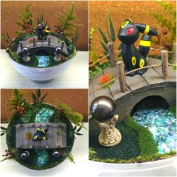 PBT Collage - Umbreon Zen Garden by TheVintageRealm