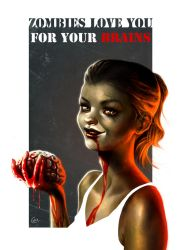 Zombie Love by Magermost