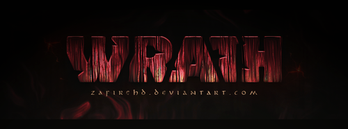 Wrath Logo Concept by ZafireHD