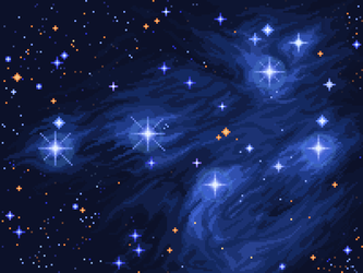 The Pleiades by 5ldo0on