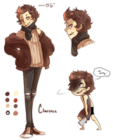 [OCs] Clarence Ref Sheet by banANNUmon