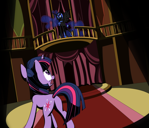 First confrontation  by Stainless33