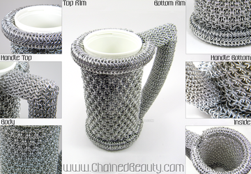 Chainmaille Stein V. 2.0 by ChainedBeauty