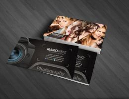 Photographer business card by Lemongraphic