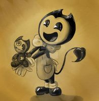 Bendy the toymaker by Mimumik