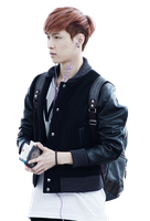 EXO Lay [PNG] by Deerhansic