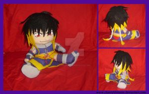 Albel the Wicked Plush by charryblossom
