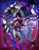 Kubo and the Two Strings by SeanDonnanArt