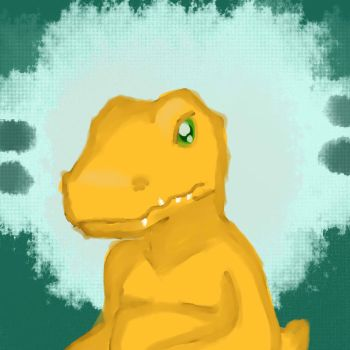 Agumon by pacobird1