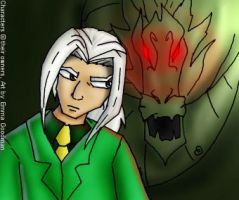 Valmont and Shendu: small pic by o0NeonCola0o