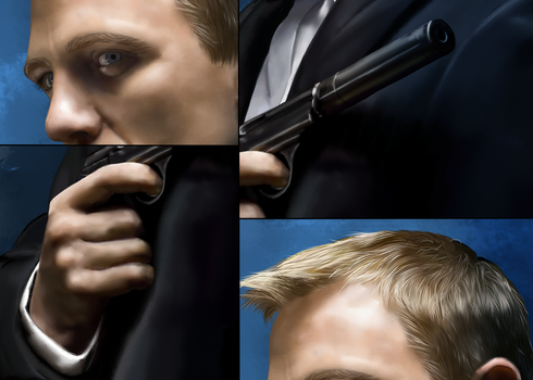 James Bond_details by Rousetta