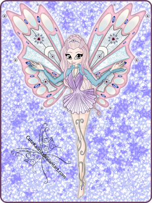Lyrisethia Enchantix Card by CuteKalina