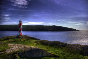 Hearts Content Lighthouse HDR by ksooley