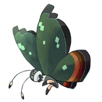 Type Collab - Jungle Vivillon by Phyllocactus