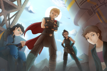 Thor Ragnarok: Immigrants by ExothermicEX