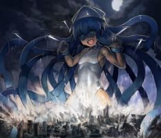 Ika Musume Invasion by Yilx