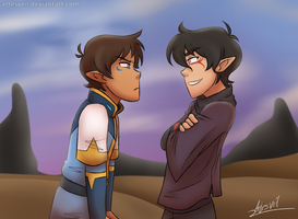 VLD|Klance|Lion King 2 AU|Mommy's 'Lil Boy! Ha! by ArtesVeil
