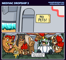 Hots comic - Medivac Dropship 3 by Memoski