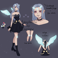 Fairy adopt/2 auction (CLOSED) by Lunzey