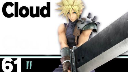 Final Fantasy 7 - Cloud Wallpaper by sonic171000