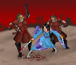 DS - Killing the world with st by amberfoxwing