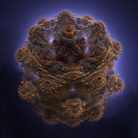 Mandelbulb Tower by cab1n
