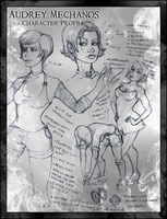 Audrey Character Profile by JRTribe