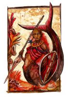 Maidens of the Seven Seas - Maasai by Grunnet