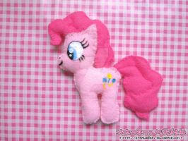 Plushies: *Pinkie Pie* by FiyahKitteh