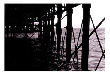 under the pier by crossbow