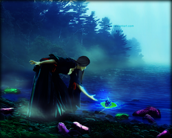 poison lake.......... the poisoned flower. by Miss--silvia