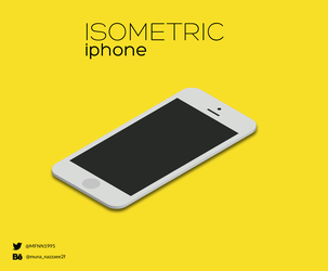 isometric iphone 3D by MunaNazzal