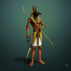 Anubis by yoctoparsec