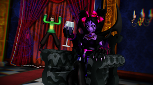 [MMD Undertale] Muffet and Chara by DrStinger